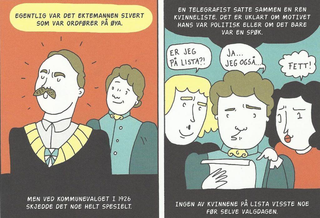 Aasa Helgesen: Kvinnepolitisk pioner ved en tilfeldighet?