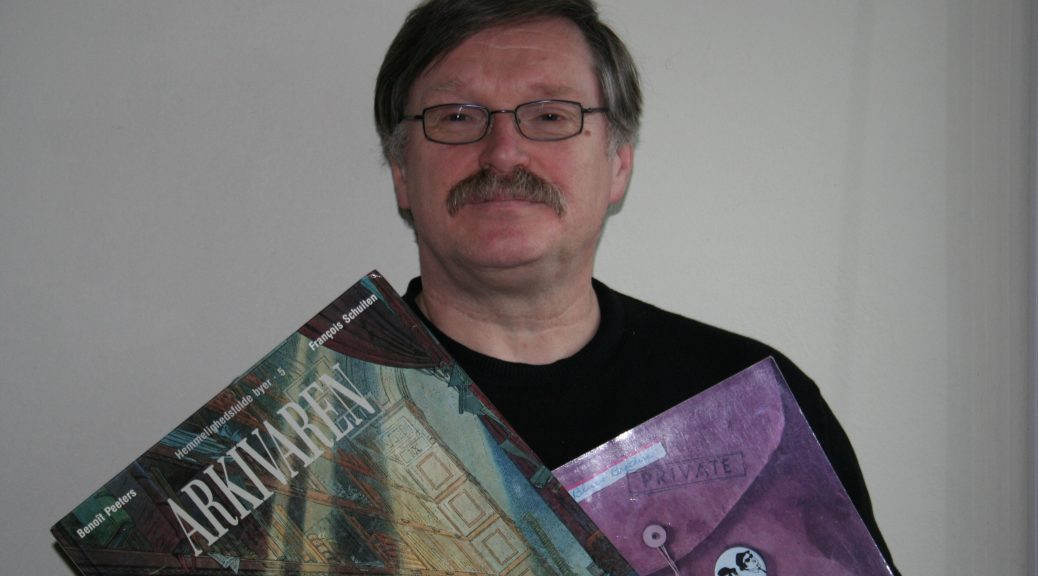 Arne Skivenes med noen inspirasjonskilder