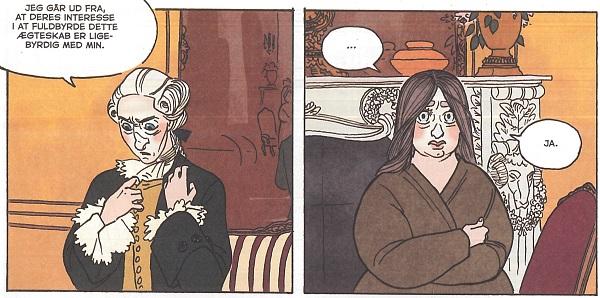 Christian legger ikke skjul på at ekteskapet hans med Caroline Mathilde er en formalitet.